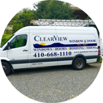 Because your safety is important to us all ClearView employees drive clearly marked vans.