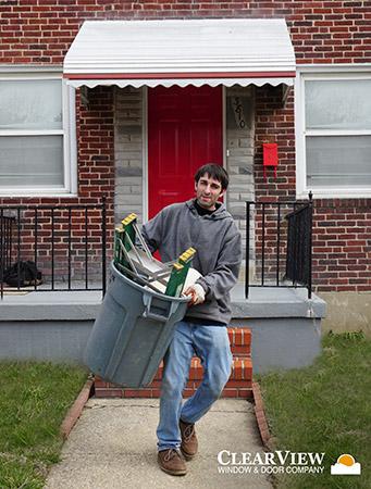 Baltimore City Maryland Storm Door Installation
