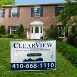Middle River Maryland Basement Entry Door Clearview