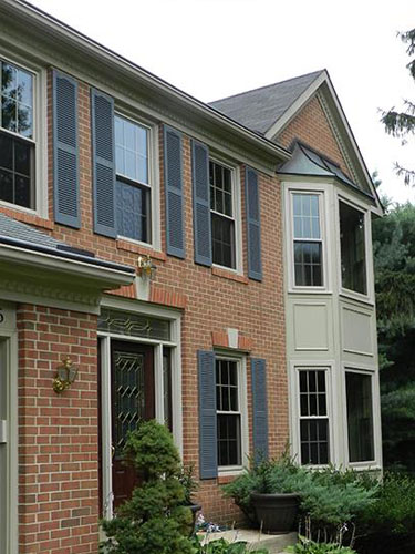 Window installation project in Ellicott City MD Howard County. Window and Door replacements. Professional Installation.