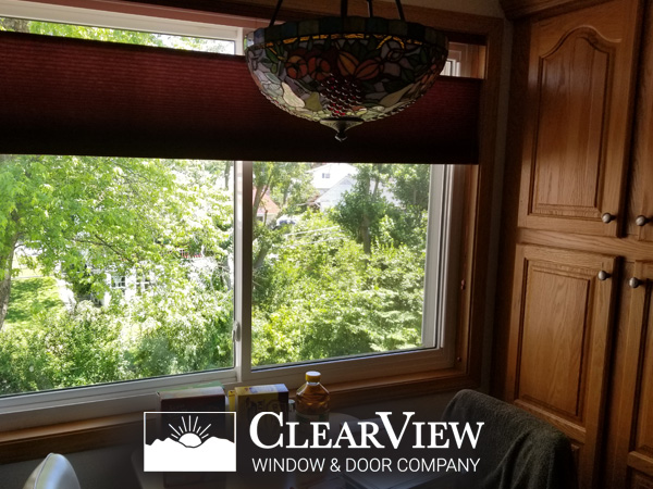 Home Additions Maryland Home Improvement Contractor Clearview Inside View Cabinets and Tiffany Lamp