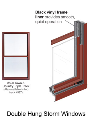 Double Hung Storm Windows