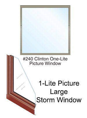 Large Picture Storm Windows