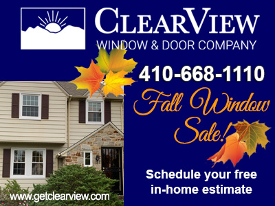 Fall Special Savings ClearView Windows Doors Additions Siding Roofing Porches Sunrooms Decks and More
