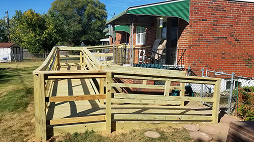 Home Improvement Contractor Handicap Wheelchair Ramps By Clearview - Cockeysville, Hunt Valley, Parkville, Towson