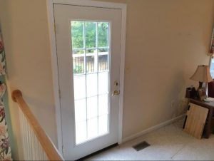 Replacement Entry Door Full Glass Grids Baltimore