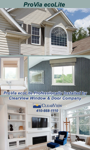ProVia EcoLite Vinyl Windows Professionally Installed by ClearView