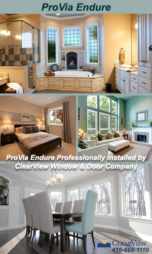ProVia Endure Vinyl Windows Professionally Installed by ClearView