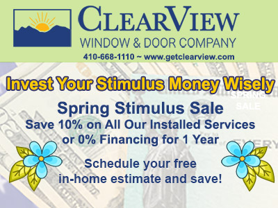 Save 10% on All Our Installed Services during April 2021 or 0% Financing for 1 year, Restrictions Apply